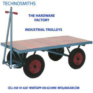 INDUSTRIAL TROLLEYS MANUFACTURERS