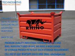 GALVANIZED STACKABLE STEEL PALLET CONVERTERS FOR COLD STORES IN RIYADH 3