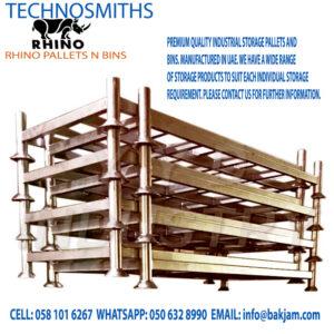 steel pallets bins stillages-heavy-duty-hot-galvanized-stacking-post